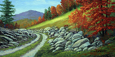 Painting - Boulder Meadow by Frank Wilson