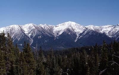 Photograph - Boulder Mountains by John Schneider