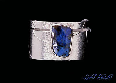 Leslie Ecklund Jewelry - Boulder Opal Silver Ring by Leslie Rhoades