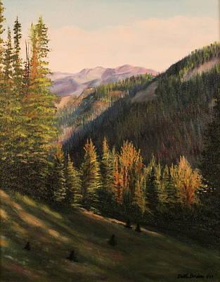 Boulder Pass Art Print