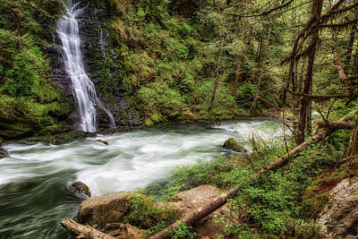 Photograph - Boulder River by Charlie Duncan