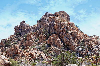 Photograph - Boulder Stack - Joshua Tree National Park by Glenn McCarthy Art and Photography