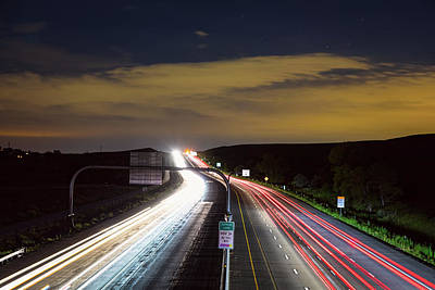 Photograph - Boulder To Denver Highway 36 Express Lane by James BO Insogna