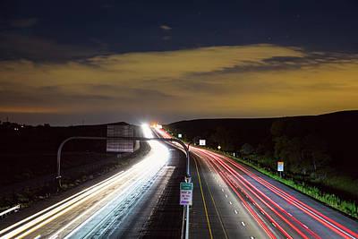Photograph - Boulder To Denver Highway 36 Express Lane by James BO Insogna