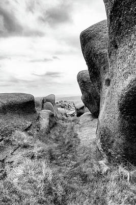 Photograph - Boulder View by Nick Bywater
