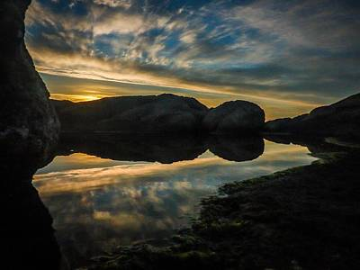 Photograph - Boulders Dawn by Alistair Lyne