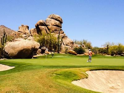Arizona Golfer Photograph - Boulders Golf by Photographer - Adam  Traganza