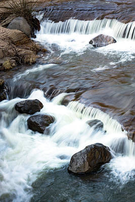 Photograph - Boulders In The Rapids by Rick Strobaugh
