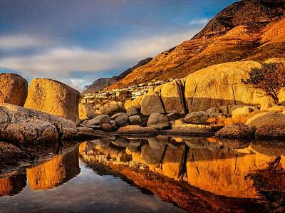Photograph - Boulders Reflected by Alistair Lyne