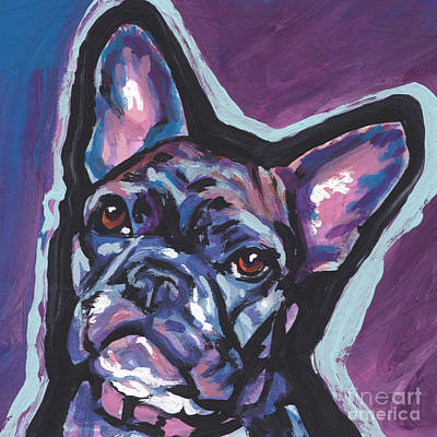 Painting - Bouledogue Baby by Lea S