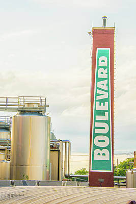 Photograph - Boulevard Brewery by Pamela Williams