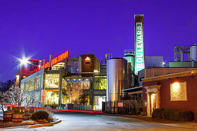 Photograph - Boulevard Brewing Kansas City by Steven Bateson