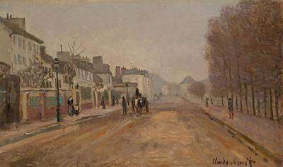 Heloise Painting - Boulevard Heloise - Argenteuil by Mountain Dreams