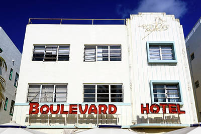 Photograph - Boulevard Hotel by John Rizzuto