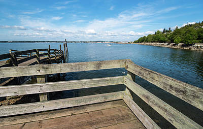 Photograph - Boulevard Park Pier by Tom Cochran