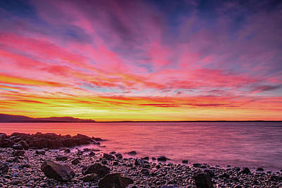 Royalty-Free and Rights-Managed Images - Boulevard Park Sunset by Ryan McGinnis