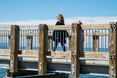 Photograph - Boulevard Park Trestle Walker by Tom Cochran