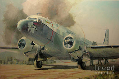 Painting - Bouncing Bertha by Stephen Roberson