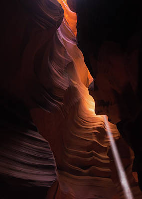 Impressionist Landscapes - Bouncing Light - Antelope Canyon - Arizona by Gregory Ballos