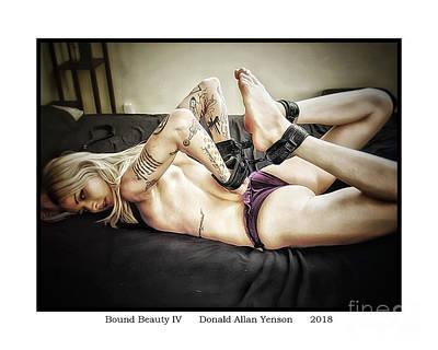 Photograph - Bound Beauty Iv by Donald Yenson