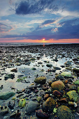 Cape Cod Photograph - Bound Brook Sunset II by Rick Berk