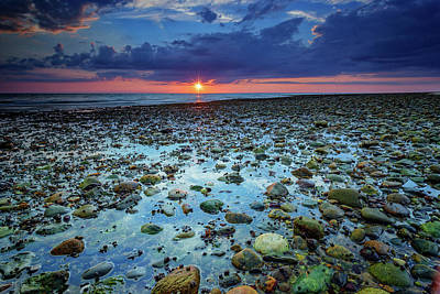 Photograph - Bound Brook Sunset IIi by Rick Berk