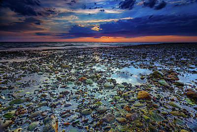 Cape Cod Photograph - Bound Brook Sunset by Rick Berk