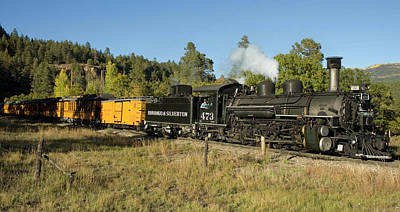 Durango Photograph - Bound For Durango by Jerry McElroy