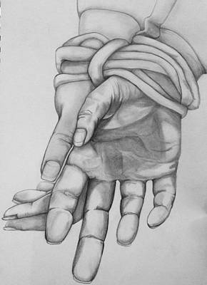 Bound Art Print by Mary Simms