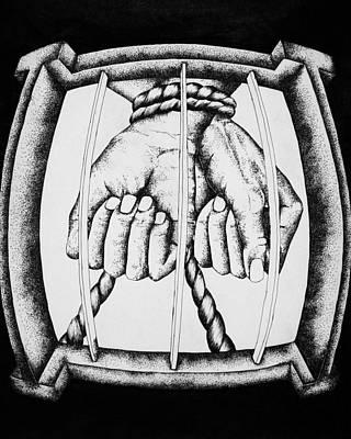 Bound Art Print by Omphemetse Olesitse