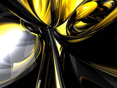 Bounded By Light Abstract Art Print by Alexander Butler