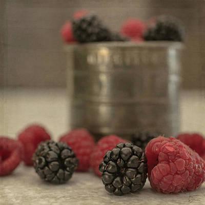 Photograph - Bountiful Berries 2 by Teresa Wilson