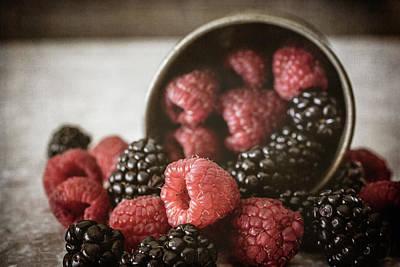 Photograph - Bountiful Berries by Teresa Wilson