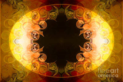 Digital Art - Bountiful Bliss Abstract Organic Bliss Art By Omaste Witkowski  by Omaste Witkowski