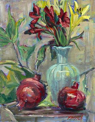 Painting - Bountiful by Marie Massey