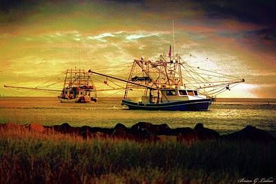 Brian Lukas Photograph - Bounty Of The Sea by Brian Lukas