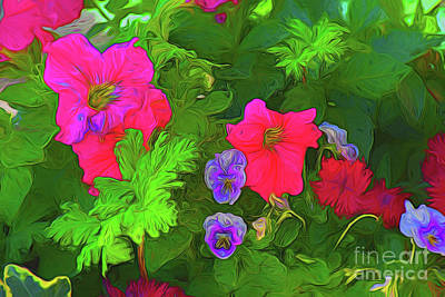 Photograph - Bouquet 10818 by Ray Shrewsberry