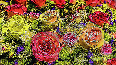 Photograph - Bouquet 16918 by Ray Shrewsberry