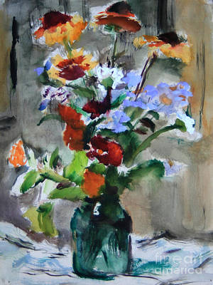 Painting - Bouquet by Andrey Semionov