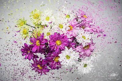 Photograph - Bouquet Boom by Adnan Bhatti