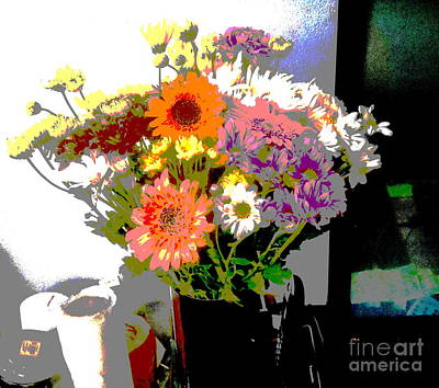 Photograph - Bouquet by Christopher Shellhammer