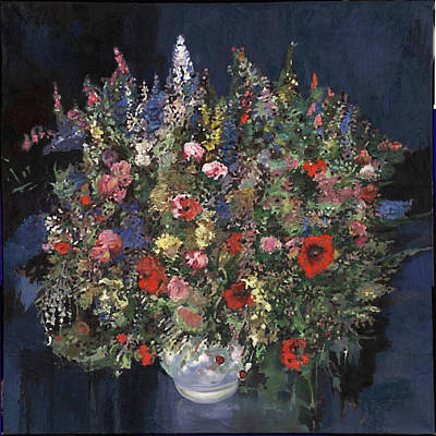 Painting - Bouquet de luxe by Philippe Plouchart