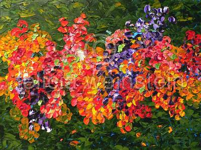 Painting - Bouquet by Felicia Weinstein