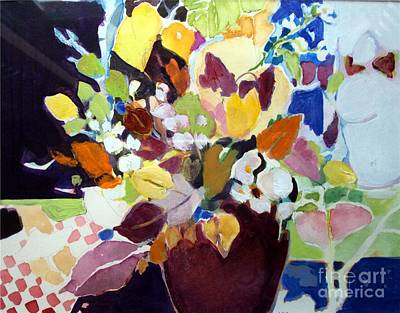 Painting - Bouquet For Sunday by Diane Ursin