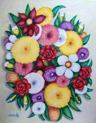 Painting - Bouquet by Gregory Dorosh