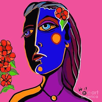 Digital Art - Bouquet by Hans Magden