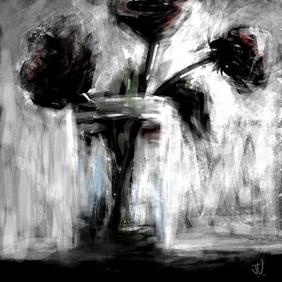 Digital Art - Bouquet In A Jar II by Jim Vance
