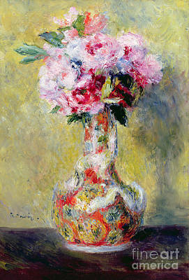 Bouquet In A Vase Art Print