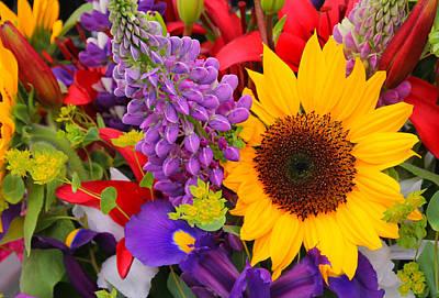 Photograph - Bouquet by Katie Wing Vigil