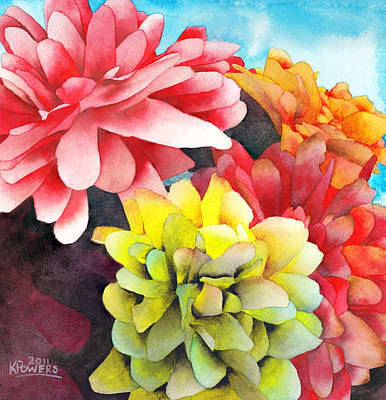 Painting - Bouquet by Ken Powers